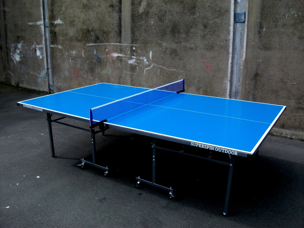 Super Spin Outdoor Table Tennis Table Supasport