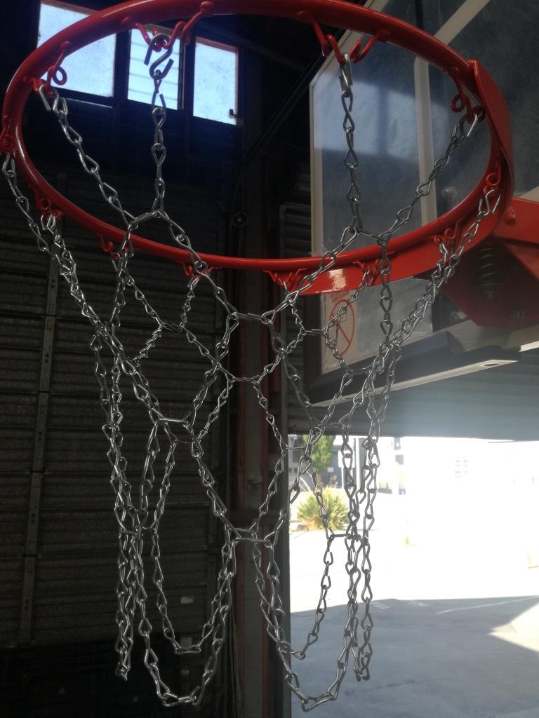 Metal Chain Net for Basketball Hoop - Supasport 08dcee46f